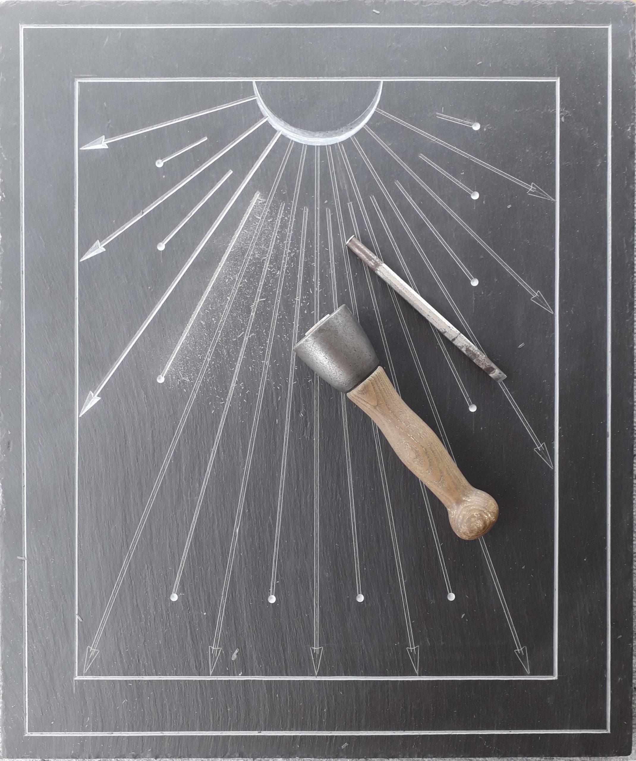 Gravure Cadran Solaire