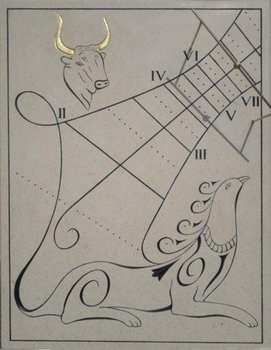 Cadran Solaire Taureau / Chimère