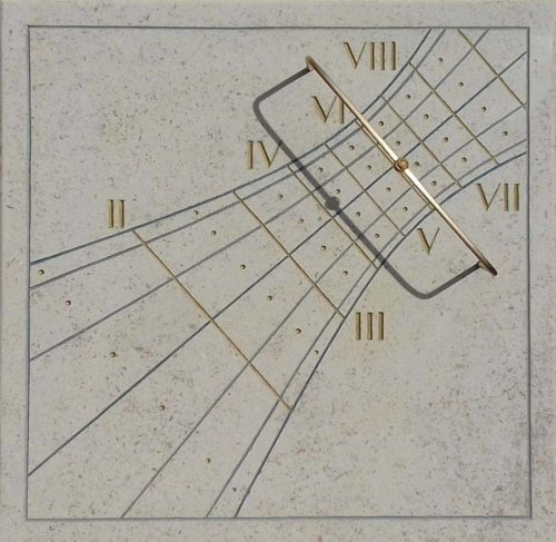 Cadran solaire occidental