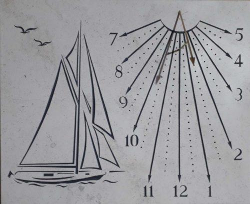 Cadran Solaire Voilier