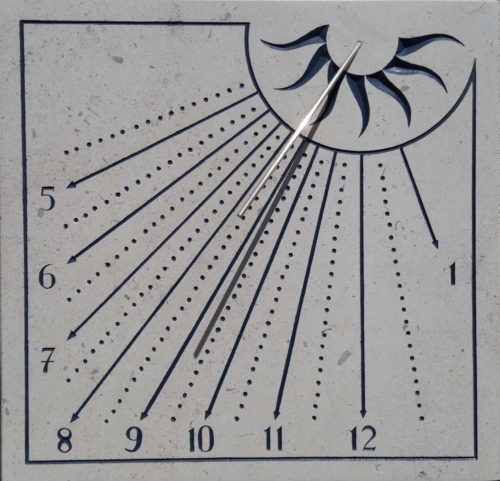 Cadran Solaire Mural