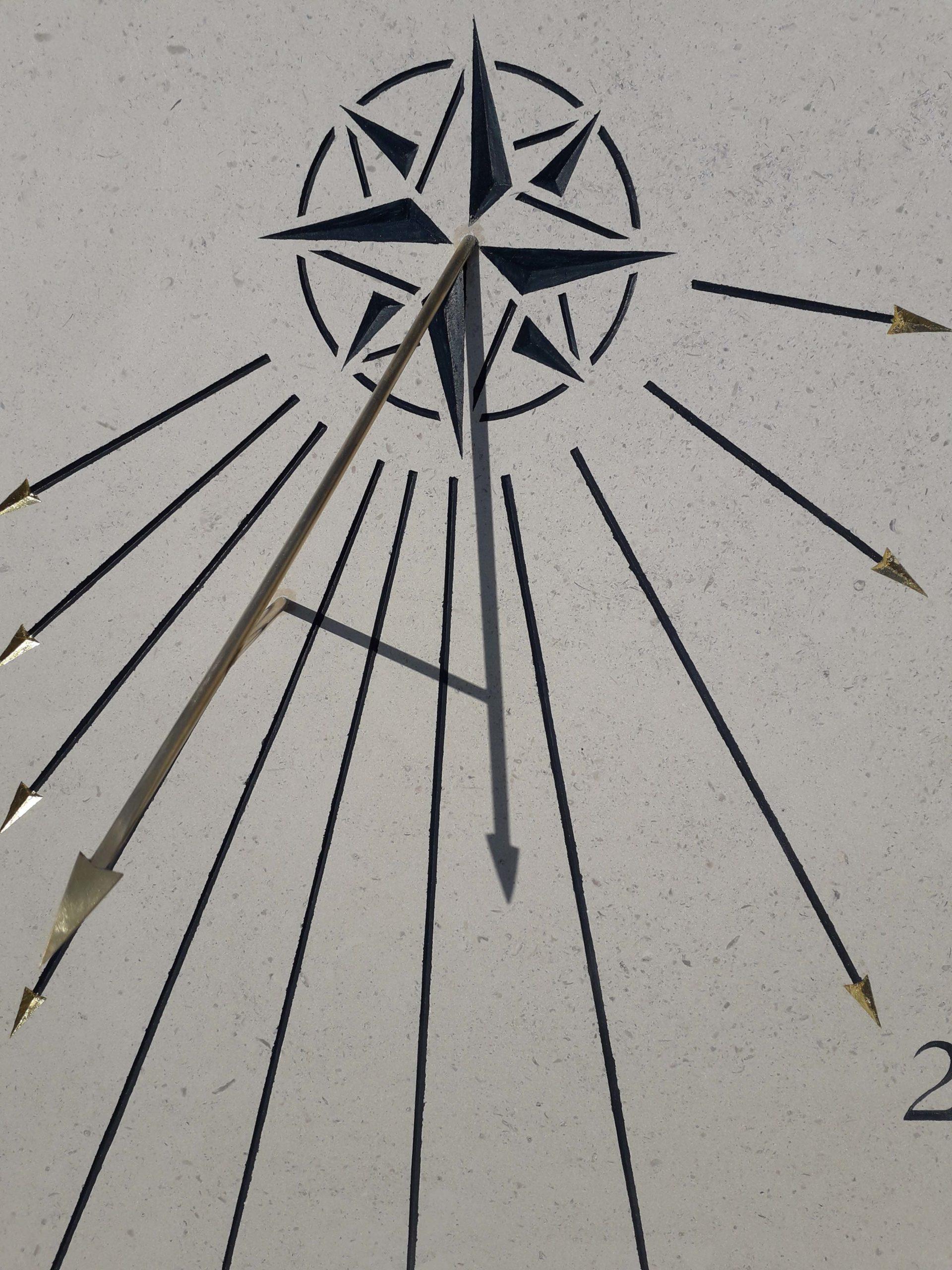 Style en forme de flèche en laiton