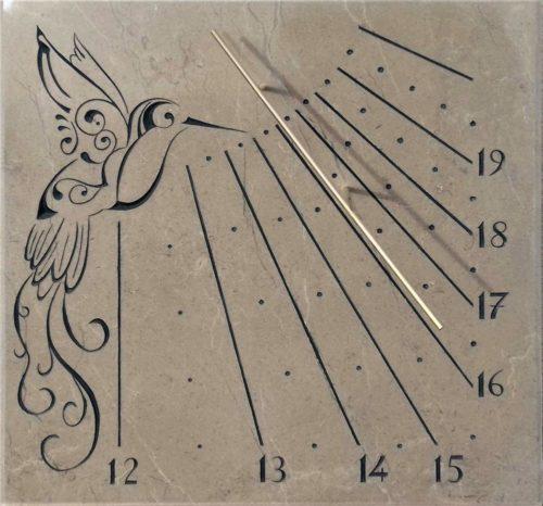 Cadran solaire Colibris