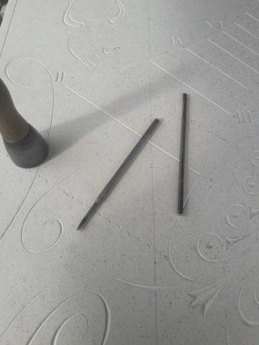 Gravure Cadran Solaire Taureau / Chimère