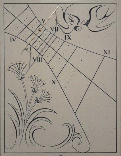 Cadran solaire hirondelle