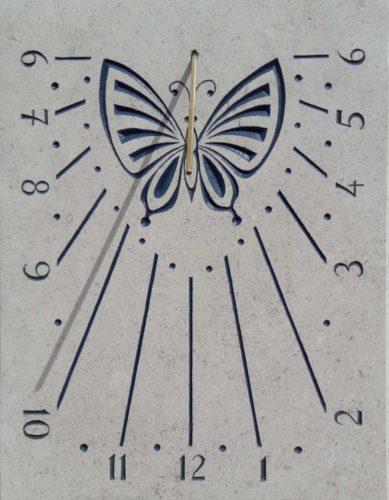 Cadran solaire papillon