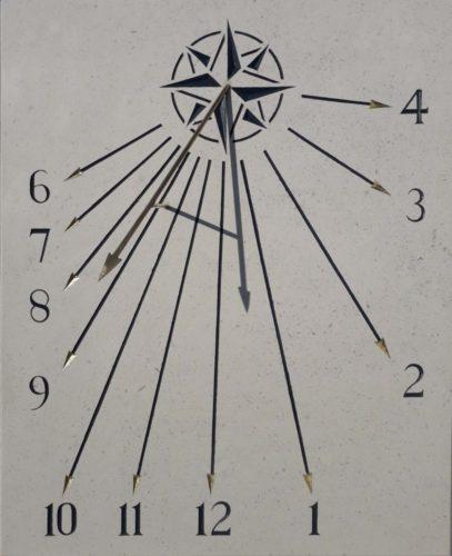 Cadran solaire rose des vents