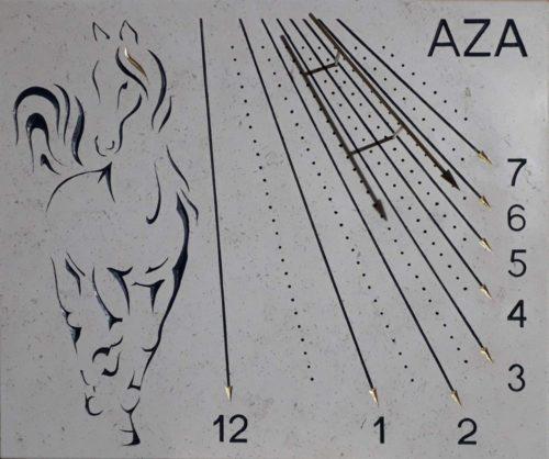 cadran solaire aza