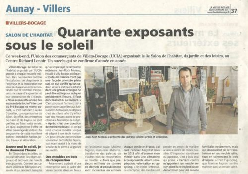Exposition de cadran solaire de Villers bocage