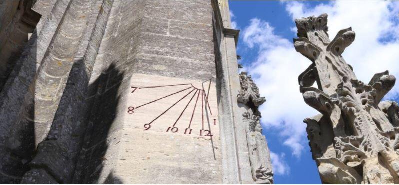 Restauration cadran solaire cathédrale de Bayeux