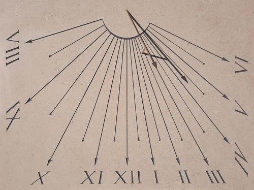 Cadran solaire de garnde taille